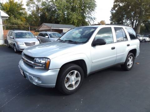 2007 Chevrolet TrailBlazer for sale at Goodman Auto Sales in Lima OH