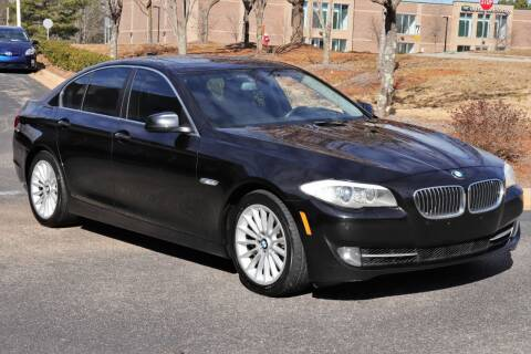 2013 BMW 5 Series for sale at Weaver Motorsports Inc in Cary NC