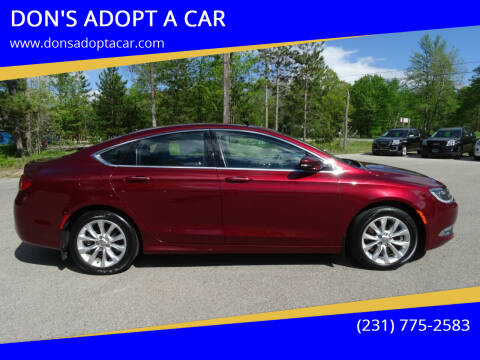 2015 Chrysler 200 for sale at DON'S ADOPT A CAR in Cadillac MI