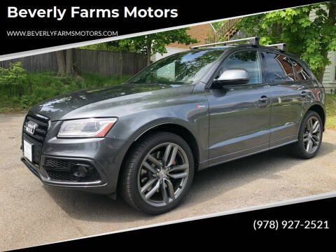 2016 Audi SQ5 for sale at Beverly Farms Motors in Beverly MA
