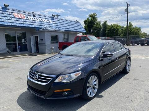 2011 Volkswagen CC for sale at RD Motors, Inc in Charlotte NC