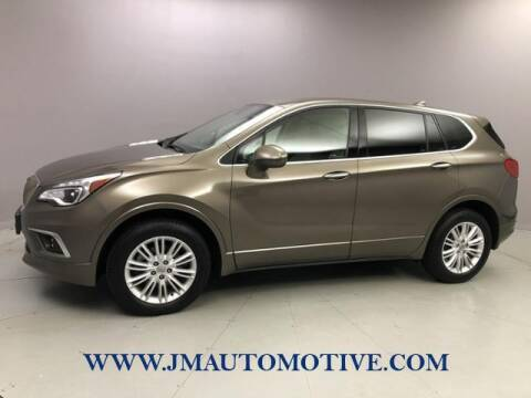 2017 Buick Envision for sale at J & M Automotive in Naugatuck CT