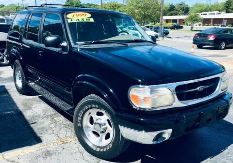 1999 Ford Explorer for sale at RD Motors, Inc in Charlotte NC