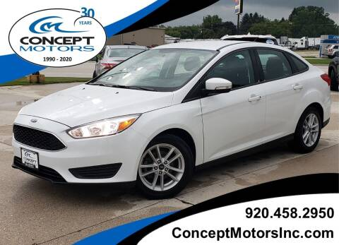 2018 Ford Focus for sale at CONCEPT MOTORS INC in Sheboygan WI