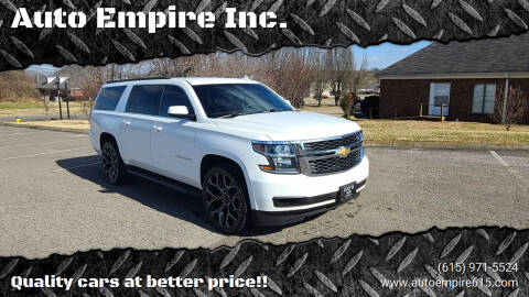 2015 Chevrolet Suburban for sale at Auto Empire Inc. in Murfreesboro TN