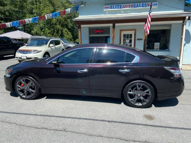 2014 Nissan Maxima for sale at Elite Auto Sales Inc in Front Royal VA