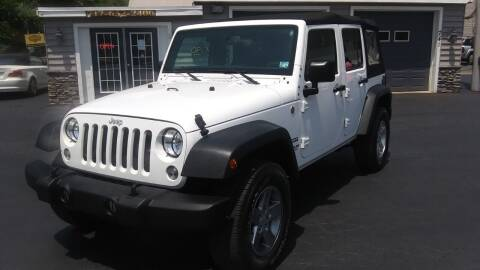 2015 Jeep Wrangler Unlimited for sale at American Auto Group, LLC in Hanover PA