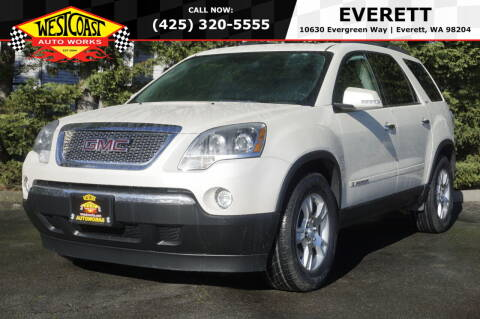 2008 GMC Acadia for sale at West Coast Auto Works in Edmonds WA