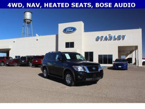 2019 Nissan Armada for sale at STANLEY FORD ANDREWS in Andrews TX
