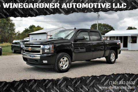 2007 Chevrolet Silverado 1500 for sale at WINEGARDNER AUTOMOTIVE LLC in New Lexington OH