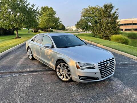 2013 Audi A8 for sale at Q and A Motors in Saint Louis MO