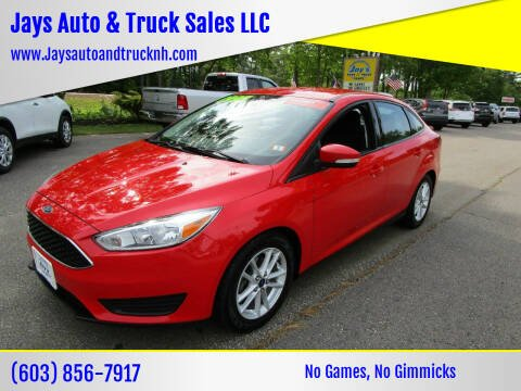2015 Ford Focus for sale at Jays Auto & Truck Sales LLC in Loudon NH