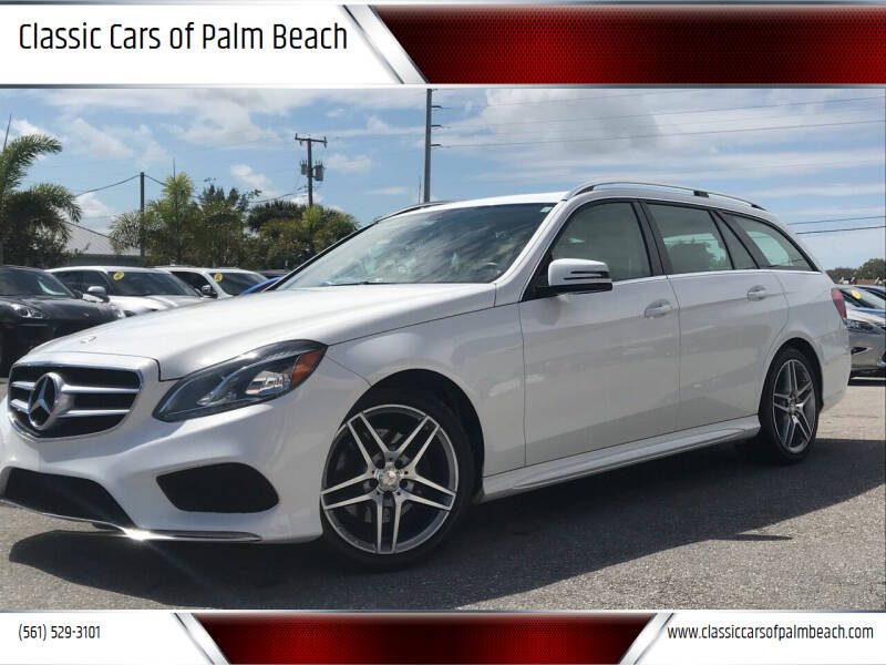 2014 Mercedes-Benz E-Class for sale at Classic Cars of Palm Beach in Jupiter FL