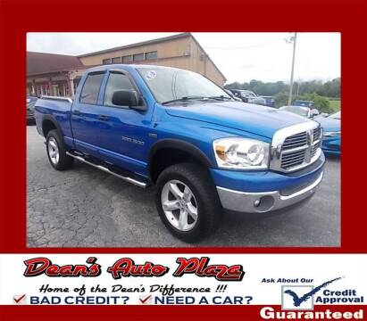 2007 Dodge Ram Pickup 1500 for sale at Dean's Auto Plaza in Hanover PA