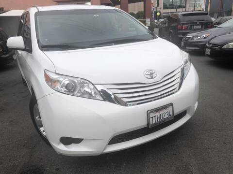 2016 Toyota Sienna for sale at Western Motors Inc in Los Angeles CA