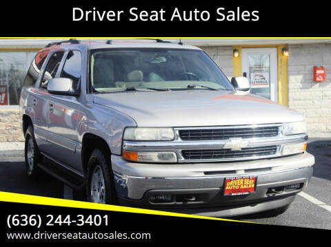 2005 Chevrolet Tahoe for sale at Driver Seat Auto Sales in St. Charles MO