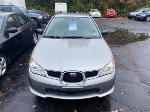 2007 Subaru Impreza for sale at Bethlehem Auto Sales in Bethlehem PA
