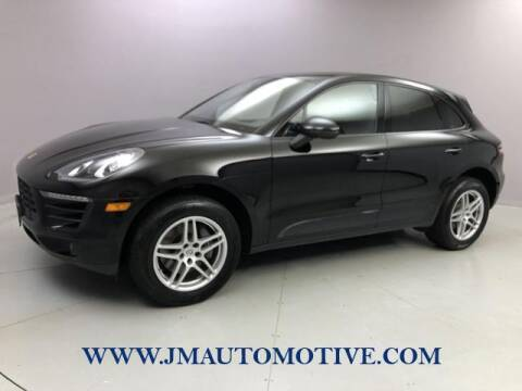 2017 Porsche Macan for sale at J & M Automotive in Naugatuck CT