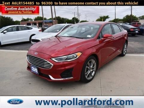 2020 Ford Fusion for sale at South Plains Autoplex by RANDY BUCHANAN in Lubbock TX