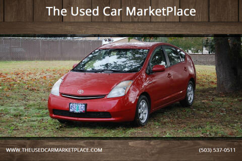 2007 Toyota Prius for sale at The Used Car MarketPlace in Newberg OR