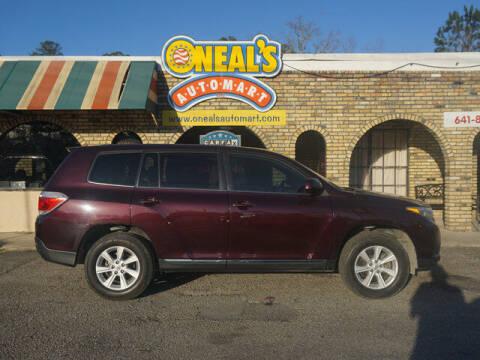 2012 Toyota Highlander for sale at Oneal's Automart LLC in Slidell LA