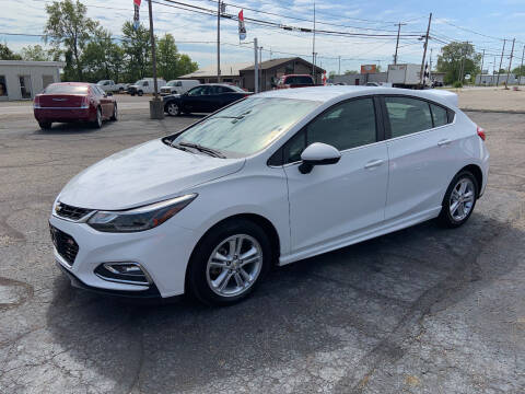 2017 Chevrolet Cruze for sale at Bruce Kunesh Auto Sales Inc in Defiance OH