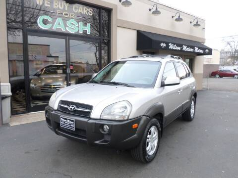 2006 Hyundai Tucson for sale at Wilson-Maturo Motors in New Haven Ct CT