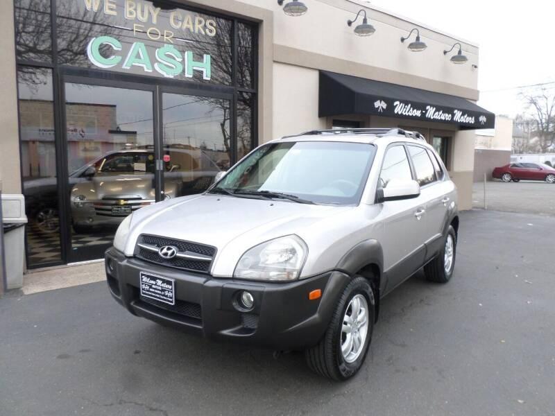 2006 Hyundai Tucson for sale at Wilson-Maturo Motors in New Haven Ct CT