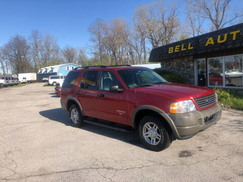 2002 Ford Explorer for sale at BELL AUTO & TRUCK SALES in Fort Wayne IN