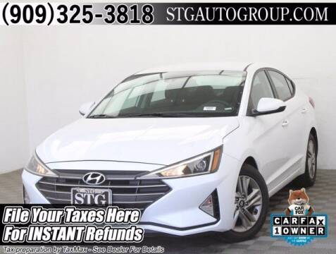 2020 Hyundai Elantra for sale at STG Auto Group in Montclair CA