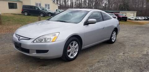 2004 Honda Accord for sale at NRP Autos in Cherryville NC