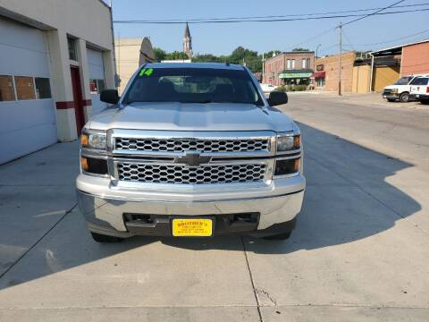 2014 Chevrolet Silverado 1500 for sale at Brothers Used Cars Inc in Sioux City IA