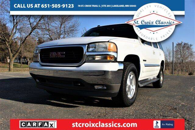 2005 GMC Yukon for sale at St. Croix Classics in Lakeland MN