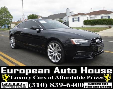 2014 Audi A5 for sale at European Auto House in Los Angeles CA
