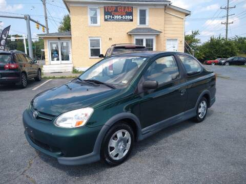 2003 Toyota ECHO for sale at Top Gear Motors in Winchester VA