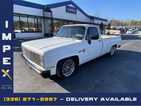 1987 Chevrolet R/V 10 Series for sale at Impex Auto Sales in Greensboro NC