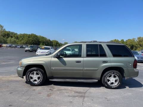 2003 Chevrolet TrailBlazer for sale at CARS PLUS CREDIT in Independence MO