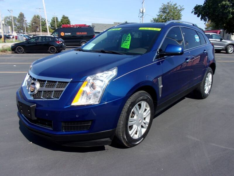 2012 Cadillac SRX for sale at Ideal Auto Sales, Inc. in Waukesha WI