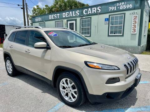 2014 Jeep Cherokee for sale at Best Deals Cars Inc in Fort Myers FL