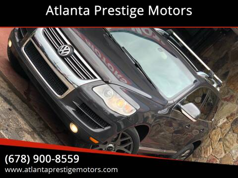 2010 Volkswagen Touareg for sale at Atlanta Prestige Motors in Decatur GA