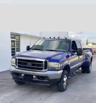 2003 Ford F-350 Super Duty for sale at CAR VIPS ORLANDO LLC in Orlando FL