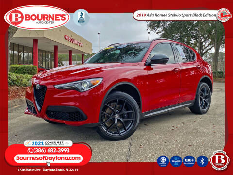 2019 Alfa Romeo Stelvio for sale at Bourne's Auto Center in Daytona Beach FL