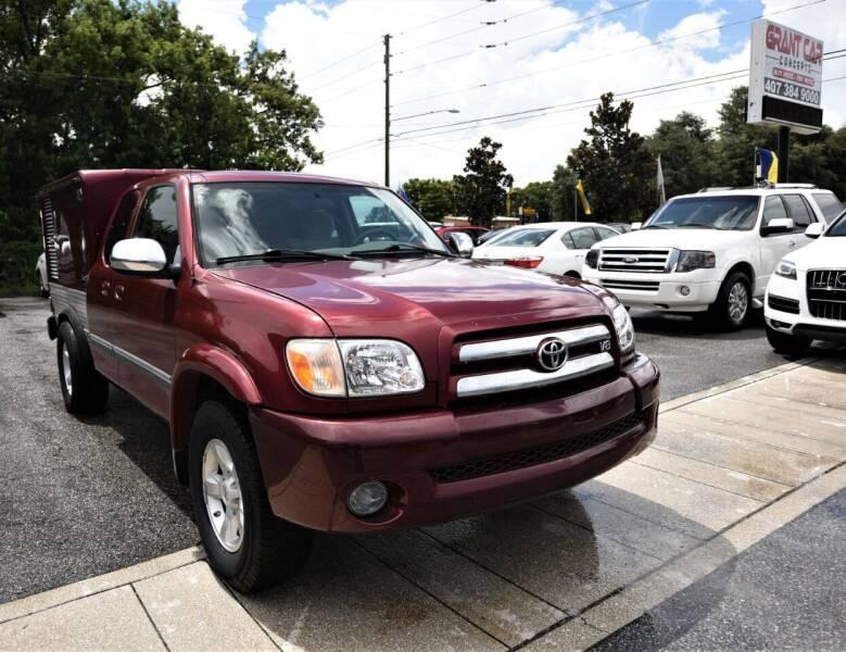 2006 Toyota Tundra for sale at Grant Car Concepts in Orlando FL