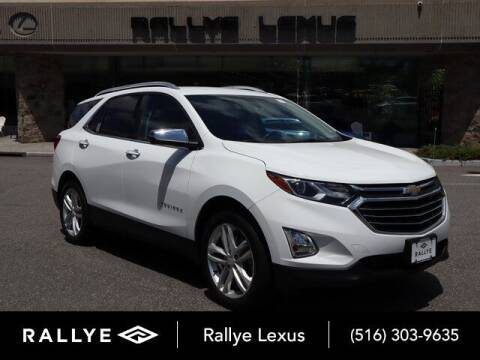 2018 Chevrolet Equinox for sale at RALLYE LEXUS in Glen Cove NY