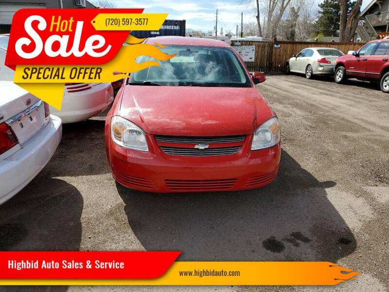2008 Chevrolet Cobalt for sale at Highbid Auto Sales & Service in Lakewood CO