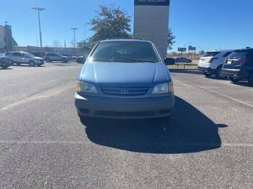2003 Toyota Sienna for sale at JOE BULLARD USED CARS in Mobile AL
