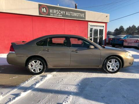 2006 Chevrolet Impala for sale at Hirschy Automotive in Fort Wayne IN