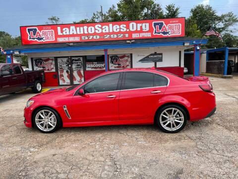 2014 Chevrolet SS for sale at LA Auto Sales in Monroe LA