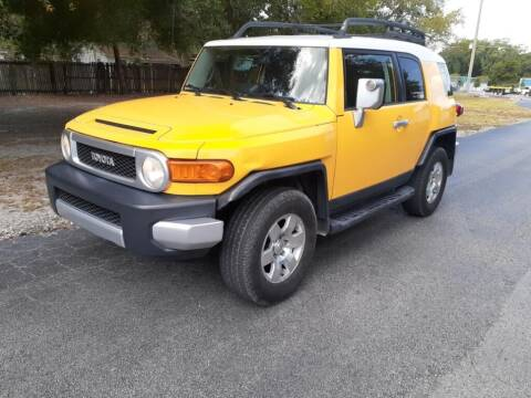 2008 Toyota FJ Cruiser for sale at Royal Auto Mart in Tampa FL