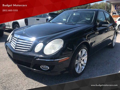 2009 Mercedes-Benz E-Class for sale at Budget Motorcars in Tampa FL